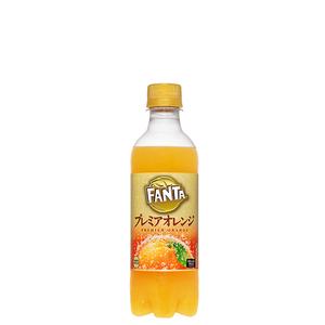 ファンタ プレミアオレンジ PET 380ml 24本 (24本×1ケース) PET ペットボトル フレーバー【送料無料】