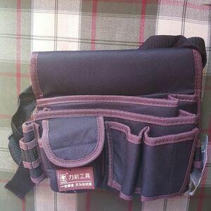 送料無料 新品 ツールバッグ 工具収納 腰袋 工具ホルダー 防水 固定ツールバッグ 大容量 ウエストポーチ 電気工事士 大工 ポケットポーチ