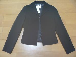 インディウ゛ィINDIVI黒ジャケット