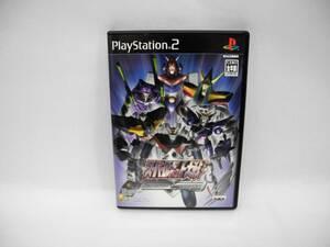 D10908【PlayStation2】スーパーロボット大戦 Scramble Commander