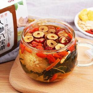 人参八宝茶 健康薬膳茶 中国茶 美容茶 花茶 ハーブティー 漢方茶