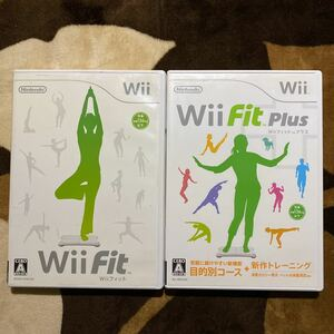 Wii Fit Wii Fit Plus 2本セット