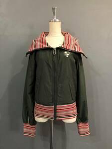 B704 DIESEL ディーゼル ショート丈 デザインジャケット ブルゾン 春物  レディース S