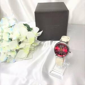 美品☆ ルイヴィトン タンブール Q131A 腕時計