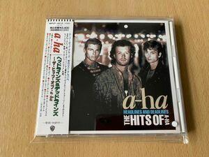 美品 a-ha HEADLINES AND DEADLINES THE HITS OF A-HA ザ・ヒッツ ・オブ・ヘッドラインズ&デッドラインズ 国内盤帯付 CD BEST 送料無料