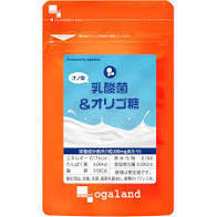 送料無料 ★ オーガランド ナノ型 乳酸菌&オリゴ糖(約1ヶ月分)サプリメント