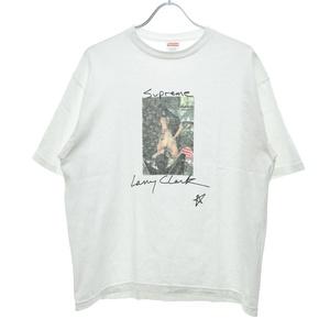 【Lサイズ】SUPREME × Larry Clark / シュプリーム × ラリークラーク 04SS Larry Clark Tee フォトプリント フォトT半袖Tシャツ