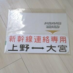 メモリアル185 記念入場券 新幹線リレー号