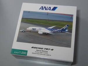 ◆ANA公認:全日空商事販売品◆ANA [JA801A] 特別塗装機 1号機◆NH20053 [1:200]◆B787-8
