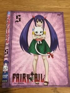 FAIRY TAIL フェアリーテイル 2nd Season レンタル落ち 5 DVD です Y12