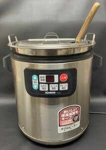 ZOJIRUSHI 象印 TH-CU080 マイコン スープジャー マホービン 8.0L 40~60人分 100V 中古 鍋 調理器具 厨房 移動販売 なべ 管理:1