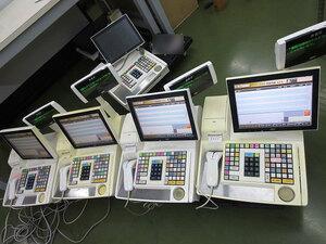 2台あり 動作良好 東芝 TEC テック POS レジスター M-8750-MS-4A1-1-R  子機 C品 M8750 業者様及び運用店舗様のみ
