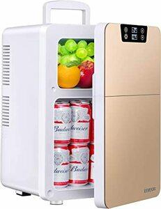 EENOUR 冷温庫 20L ポータブル 小型 2ドア 同時保温保冷可能 冷蔵庫 -2℃~60℃ 温度調節可 ワンタッチ操作 L