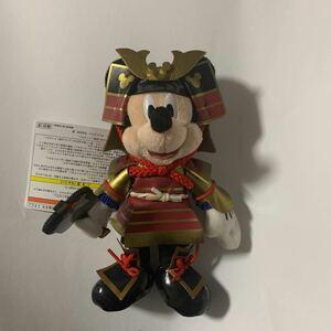 ミッキー 鎧兜・五月・男の子の節句・子供の日 ぬいぐるみバッジ ディズニーリゾート TDR