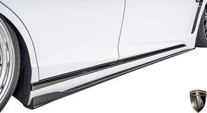 【M's】レクサス 後期 50系 LS F-SPORT (2020.11-) AIMGAIN 純VIP SPORT サイドアンダースポイラー LR // カーボン エイムゲイン エアロ