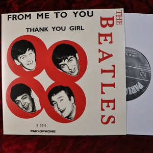 The Beatles/ビートルズ FROM ME TO YOU / THANK YOU GIRL 2019シングルボックス バラ EU盤 (ノルウェー盤スリーブアート) 21C26003