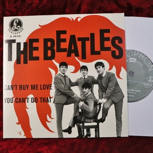 The Beatles/ビートルズ CAN'T BUY ME LOVE / YOU CAN'T DO THAT 2019シングルボックス バラ EU盤 (オーストリア盤スリーブ) 21C26005
