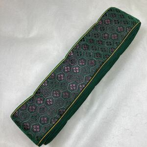 セール品 緑紫高貴六角 畳ヘリ 5m 材料 ハンドメイド 和風素材 お土産