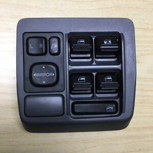 【即納】ミラ アヴィ パワーウィンドウ スイッチ L250S L260S L250V L260V 純正 中古 パワーウインドウ 運転席 ドアミラー リモコン