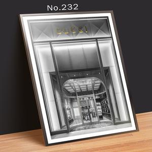 No.232 A4サイズ インテリアポスター おしゃれ 海外アート ポスターのみ 送料無料