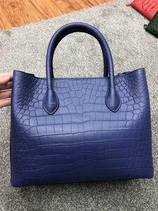 ワニ革 鞄 クロコダイルレザー 18色 トートバック ハンドバッグ ショルダーバッグ メッセンジャー レディース 大容量 女性 人気 プレセント