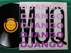 ジャンゴ/M.J.Q モダン・ジャズ・カルテット 1953~1955年録音古典的名作名盤!希少国内盤