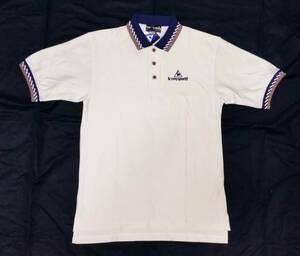 【新品タグ付】ルコック ゴルフ 半袖ポロシャツ Mサイズ相当 le coq sportif golf collection