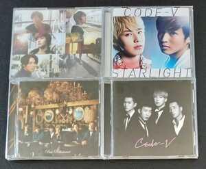 ★美品★ CODE-V [アルバム 4枚 セット] CD まとめて|BEST ROKUTOUSEI|Love & Harmony|代々木|STARLIGHT|ベスト コードブイ K-POP