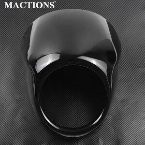 オートバイ グロス ブラック フルヘルメット カスタム 高品質 ヘッドライト XG500 750 2014 2015 2016 2017