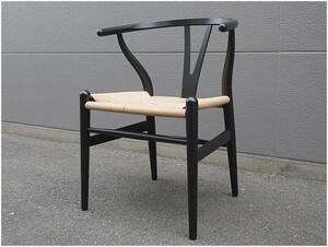 CARL HANSEN&SON カール・ハンセン&サン CH24 Yチェア ワイチェア 椅子 ビーチ ブラック【YY0304-5】