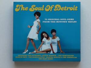 ◎ The Soul Of Detroit / 75 ORIGINAL MOTOWN GEMS ◎ 3CD 洋盤