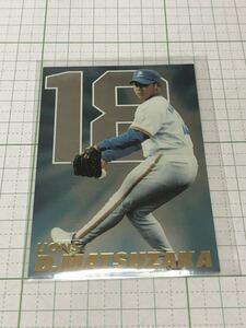 カルビー 2001 プロ野球チップス スペシャルカード SP-08 松坂大輔(西武)