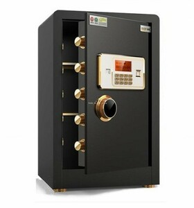 strongly recommendation * crime prevention measures security box home use safe numeric keypad type small size electron safe crime prevention safe storage cabinet alarm alarm attaching intelligent 60cm