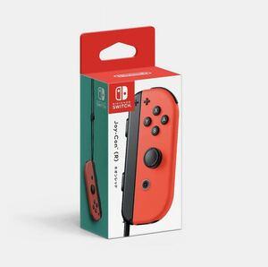 【送料無料!】新品 Joy-Con(R) ネオンレッド コントローラー任天堂 Nintendo ニンテンドースイッチジョイコン Nintendo Switch 未使用品