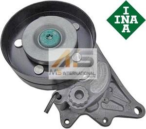 【M's】W211 E55/W219 CLS55/W463 G55(V8/M113)INA製 ベルトテンショナー AMG ベンツ 純正OEM 113-200-0170 1132000170