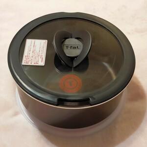 【美品】ティファール 片手鍋3点セット 20cm ガス火用 マホガニー プレミアソースパン T-fal