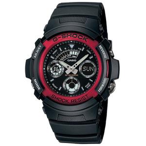 新品 即納 カシオ 時計 メンズ 腕時計 アナデジ 多機能 ブラック AW-591-4A