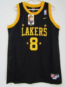 美品 NBA LAKERS コービー・ブライアント BRYANT ロサンゼルス・レイカーズ NIKE製 ユース ユニフォーム ナイキ ゲームシャツ