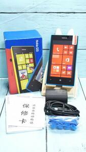 Nokia Lumia 520 ブルー シアン Windows Phone 本体 白ロム SIMロック解除済み SIMフリー 722893