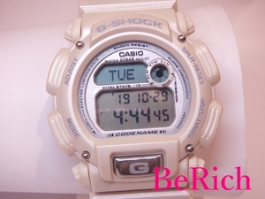 カシオ CASIO G-SHOCK Gショック メンズ 腕時計 DW-8800 シルバー 文字盤 SS キャンバス 白 ホワイト クォーツ QZ デジタル 【中古】ht2001