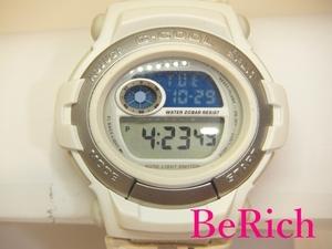 カシオ CASIO G-SHOCK Gショック メンズ 腕時計 GT-003 白 ホワイト 文字盤 樹脂 SS レザー クォーツ QZ ウォッチ アナデジ【中古】ht1690