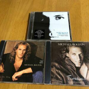 【マイケルボートン】Timeless: The Classics他 CDアルバム 『3枚 セット!』