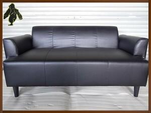 未使用 「引取り歓迎」 美品!! IKEA ソファ 脚取り外し可能 幅1455㎜奥行730㎜高さ715㎜ (I0311-09)