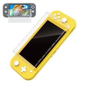 新品未使用 Nintendo Switch Lite用 ガラスフィルム 任天堂ニンテンドー スイッチ 強化ガラス 保護フィルム 硬度 9H ブルーライトカット