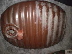 陶器 湯たんぽ 昭和レトロ