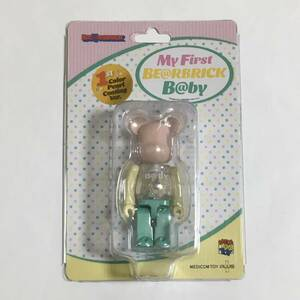 MY FIRST BE@RBRICK B@BY 1st Color Pearl Coating Ver. 100% 千秋 ベアブリック MEDICOM TOY PLUS メディコムトイ kaws 新品未開封