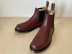 24cm RED ドクターマーチン Dr.Martens 2976 チェルシー サイドゴアブーツ チェリーレッド UK5/24cm R11853600 CHELSEA BOOT