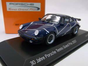 ★ポルシェ ミュージアム限定品★PORSCHE 911 Turbo Tennis Grand Prix 2007 1/43【Type 930】★美品!★MAP020PTGP17