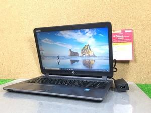 Windows10/office搭載【HP ProBook 450 G2】Core i5-5200U/メモリ4GB/SSD128GB