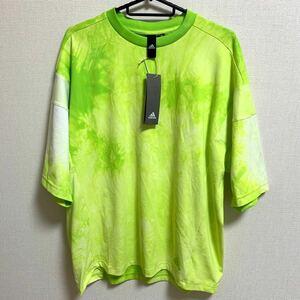 【新品】adidas 半袖 Tシャツ スポーツウェアトレーニングウェア カジュアル ビッグシルエット ジム クラブ アディダス